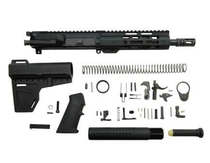 """PSA 8.5"""" Pistol-length 5.56 NATO 1/7 Nitride  7"""" Lightweight M-Lok Classic Shockwave Pistol Kit"""
