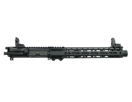 "PSA 10.5"" Pistol-Length 300AAC 1/8 12"" Lightweight M-Lok Slant Upper - With BCG, CH, & MBUS Sight Set - 5165449836"