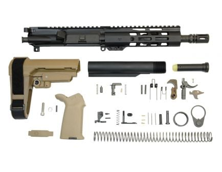 "8.5"" SBA3 flat dark earth AR pistol kit"