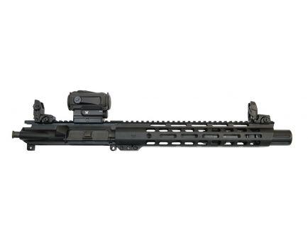 "PSA 10.5"" 5.56 NATO 1/7 Phosphate 12"" M-Lok Upper With MBUS Sight Set, & Vortex Sparc - No BCG or CH - 5165449898"