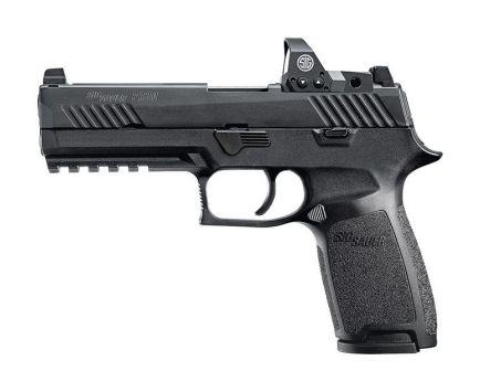 Sig Sauer P320 RX 9mm Full-Size Pistol w/ Romeo1 Reflex Sight - 320F-9-B-RX