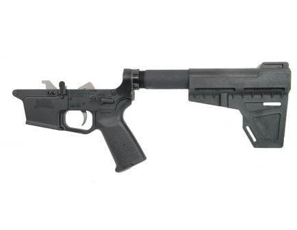 PSA PX9mm Forged Complete MOE EPT Shockwave Lower, Black - uses Glock®-style magazine