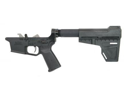 BLEM PSA PX9mm Forged Complete MOE EPT Shockwave Lower, Black - uses Glock®-style magazine