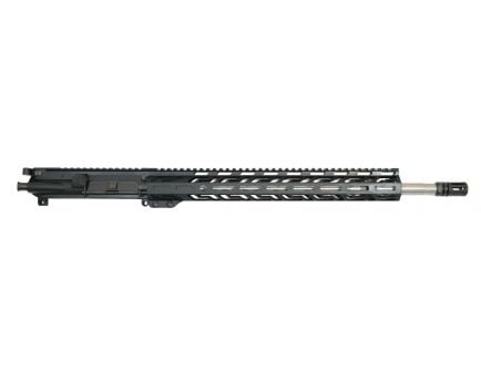 """PSA 18"""" Rifle-Length .224 Valkyrie 1/7 Stainless Steel 15"""" Lightweight M-Lok Upper with BCG & CH - 5165449994"""