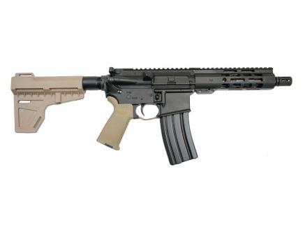 """PSA 7.5"""" Pistol-Length 5.56 NATO 1/7 Nitride M-Lok MOE Shockwave Pistol, Flat Dark Earth - 5165449998"""