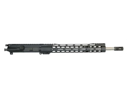 "16"" stainless steel upper"