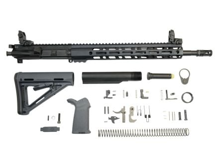 ar 15 complete kit with M-lok rail system