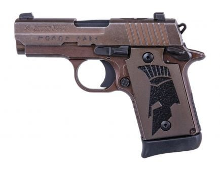 Sig Sauer P938 Spartan II 9mm Micro-Compact Pistol - 938-9-SPARTANII-AMBI
