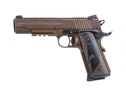 Sig Sauer 1911 Spartan II .45 ACP Pistol, Distressed Coyote Tan - 1911R-45-SPARTANII