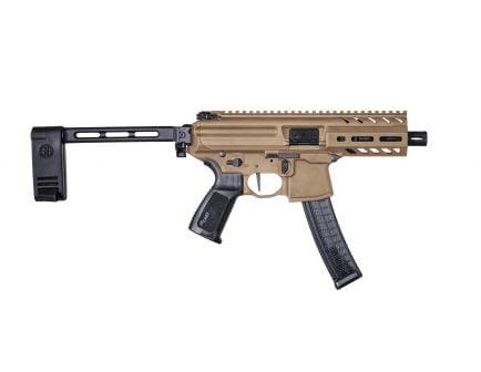 "Sig Sauer MPX PCB 9mm 4.5"" Keymod AR Pistol - COY 30rd - PMPX-4B-9-COY"