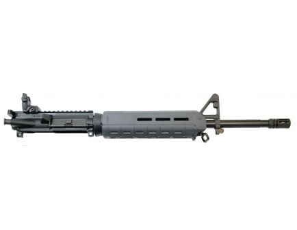"""PSA 16"""" Mid-Length 5.56 NATO 1/7 Phosphate MOE Upper With BCG, CH, & Rear MBUS - Gray"""