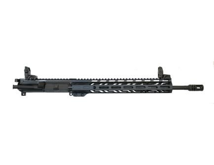 "PSA 16"" Mid-Length Pencil 5.56 NATO 1:7 Nitride 13.5"" Lightweight M-LOK Upper with Nickel Boron BCG, CH, & MBUS Sight Set - 5165450127"