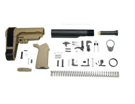 MOE SBA3 Pistol Brace AR-15 Lower Build Kit