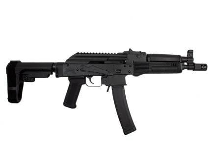 PSA AK-V 9mm Classic SBA3 Pistol, Black - 5165450175