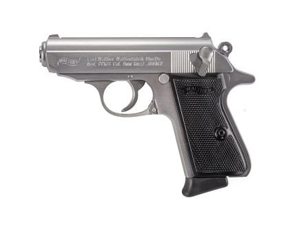 Walther PPK .380ACP Pistol, Stainless Steel - 4796001