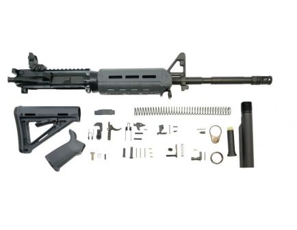 "PSA 16"" carbine-length moe magpul ar15 kit in gray."