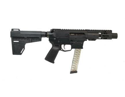 "PSA Gen4 4"" 9mm 1/10 M-Lok MOE EPT Shockwave Pistol, Black - 5165450374"