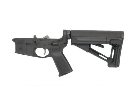 PSA AR-15 Complete Lower - Magpul STR EPT Edition  - Black, No Magazine