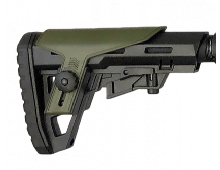 Typhoon Defense F12 Collapsible Stock, Black/OD Green - A0106CS