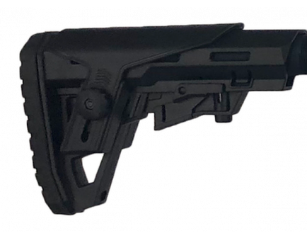 Typhoon Defense F12 Collapsible Stock, Black - A0101CS