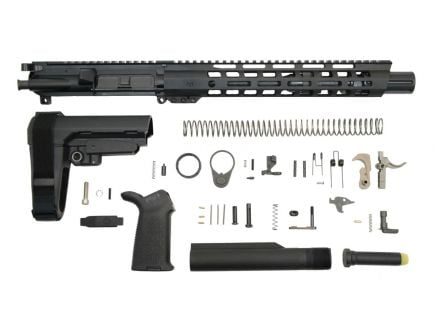 "10.5"" carbine length railed pistol kit"