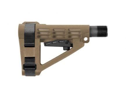 SB Tactical SBA4 Pistol Stabilizing Brace, Flat Dark Earth - SBA4-02-SB