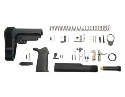 PSA MOE AR-15 Lower Build Kit with SBA3 Pistol Brace