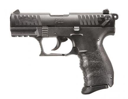 Walther P22 QD .22 LR Pistol, Black - 5120500