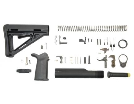 MOE AR-15 lower build kit in black