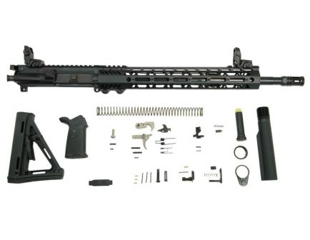 Midlength AR rifle kit with rail system
