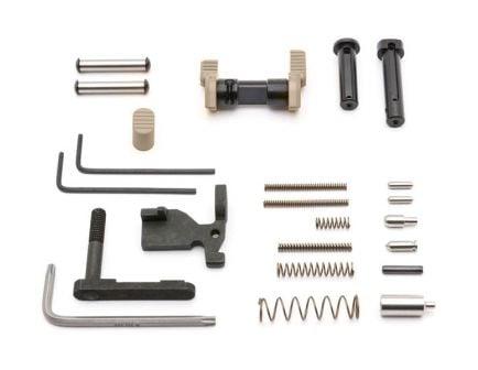 Armaspec AR-15 Lower Parts Kit, Flat Dark Earth - ARM152-FDE
