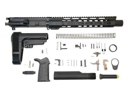 """10.5"""" blackout MOE EPT SBA3 railed ar-15 pistol kit"""