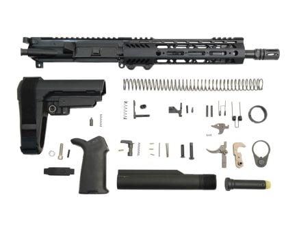 """10.5"""" carbine length railed ar-15 pistol kit"""