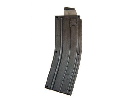 Blackdog X Form Sonic Weld .22 LR Steel Feed Lip 25 Round AR Style Magazine, Black - SW-25BL-SS