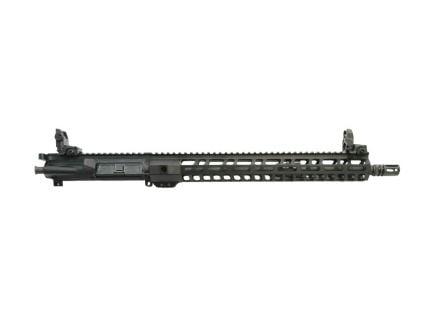 "PSA 16"" Mid-Length Pencil 5.56 NATO 1:7 Nitride 15"" Lightweight M-LOK Upper w/ NiB BCG, CH, & MBUS Sights"
