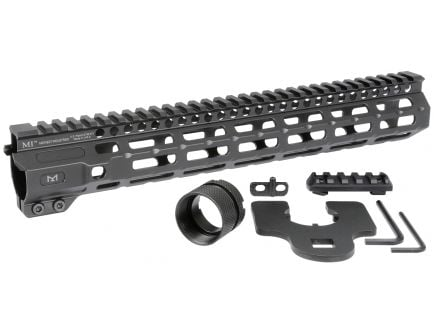 "Midwest Industries Combat Rail 12.625"" M-LOK Free Float One Piece Handguard - MI-CRM12.625"