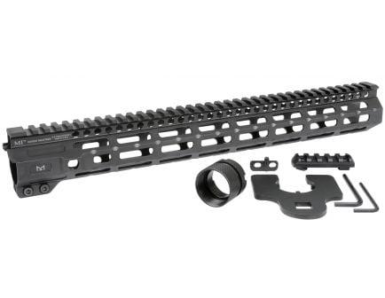 """Midwest Industries 15"""" One-Piece Free Float M-LOK Compatible Combat Rail Handguard - MI-CRM15"""