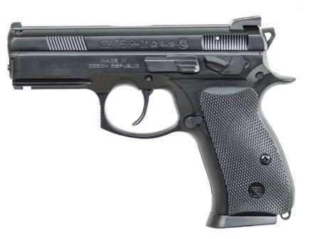 CZ P-01 Omega 9mm Pistol, Black - 91229