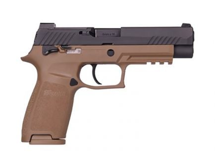 SIG Sauer P320 M17 Blk & Coyote   320F-9-RT-M17-MS