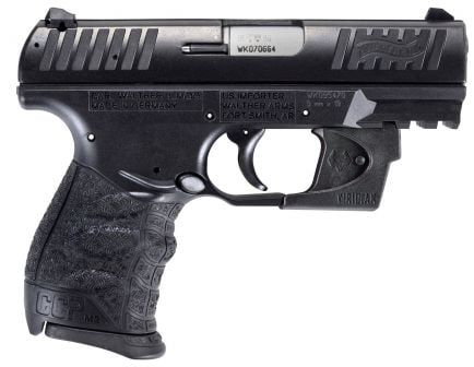 Walther Pistol CCP M2 9mm Pistol with Viridian Red Laser - 5080500VRL