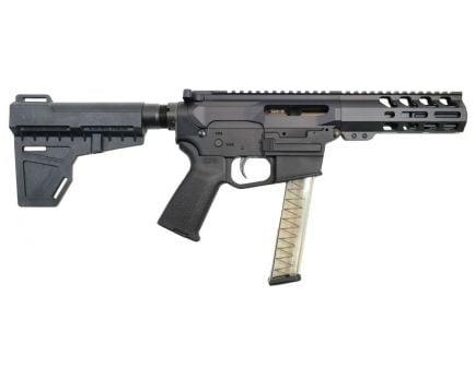 "PSA Gen4 4"" 9mm 1/10 M-Lok MOE EPT Shockwave Pistol, Black"