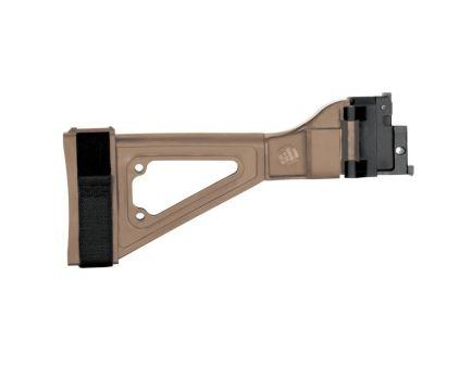 SB Tactical SBT805 CZ Bren 805 Side Folding Brace, Flat Dark Earth - SBT805-02-SB