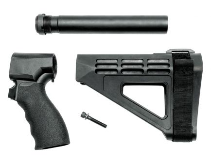 SB Tactical 20 GA Remington Tac-14 Pistol Stabilizing Brace Kit, Black - 87020-SBM4-01-SB