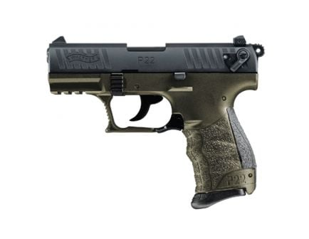 """Walther P22QML .22 LR 3.4"""" Pistol, Military - 5120715"""