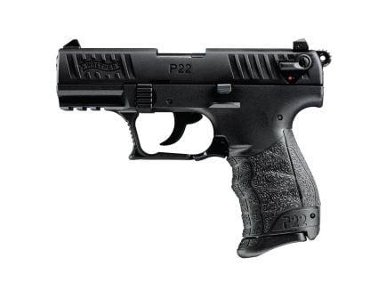 "Walther P22Q .22 LR 3.4"" Pistol, Black - 5120700"