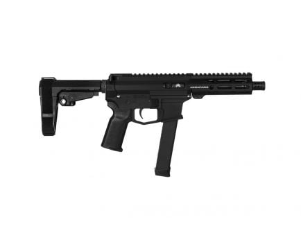 "Angstadt UDP-9 9mm 6"" Pistol with SBA3 Brace, Black - AAUDP09B06"