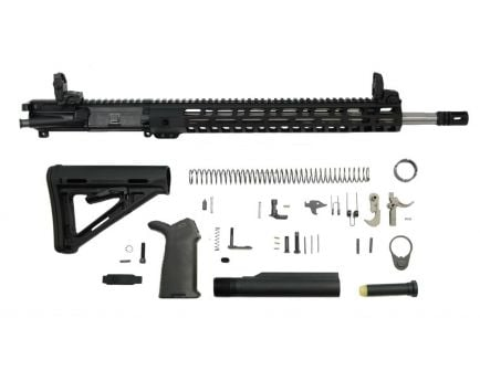 "PSA 18"" Rifle-Length .223 Wylde 1/7 Stainless Steel 15"" Lightweight M-lok MOE+ EPT Rifle Kit w/MBUS Sight Set"