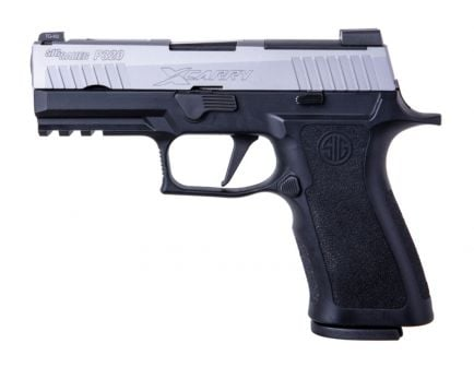 """Sig Sauer P320 XCarry 9mm 3.9"""" Pistol, Two-Tone Stainless - 320XCA-9-TXR3"""