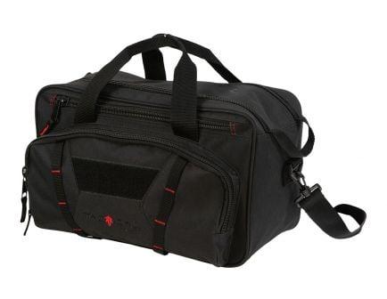 Allen Sporter Range Bag w/ Padded Pistol Rug, Black and Red - 8247