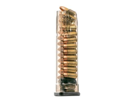 ETS S&W M&P 21rd 9mm Magazine, Clear  -  SW9-MP-21